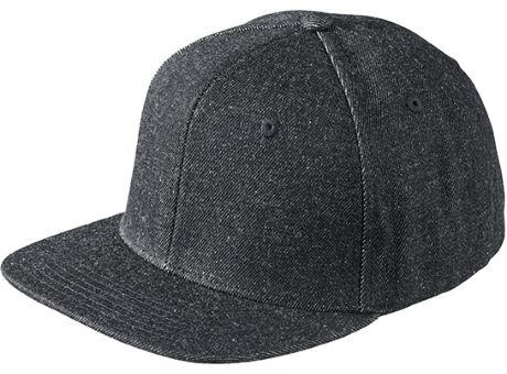 6 Panel Denim Pro Cap-Stylische 6 Panel Cap im